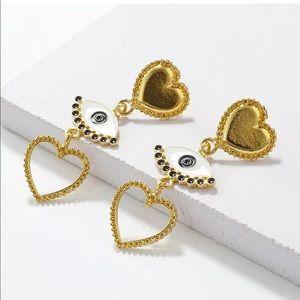 New Trendy Style✨ Evil Eye Drop Earrings